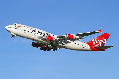 Virgin Atlantic Airways Boeing 747-41R G-VWOW (msn 32745) LHR (Keith Burton). Image: 911204.
