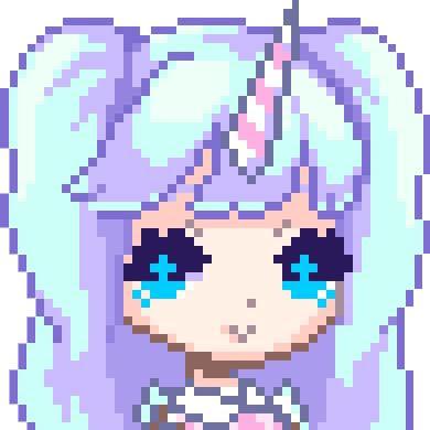 pixel kawaii cute pink aesthetic anime tumblr girl