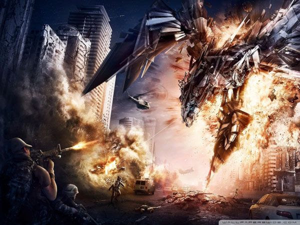 A fan-made wallpaper for TRANSFORMERS 4.
