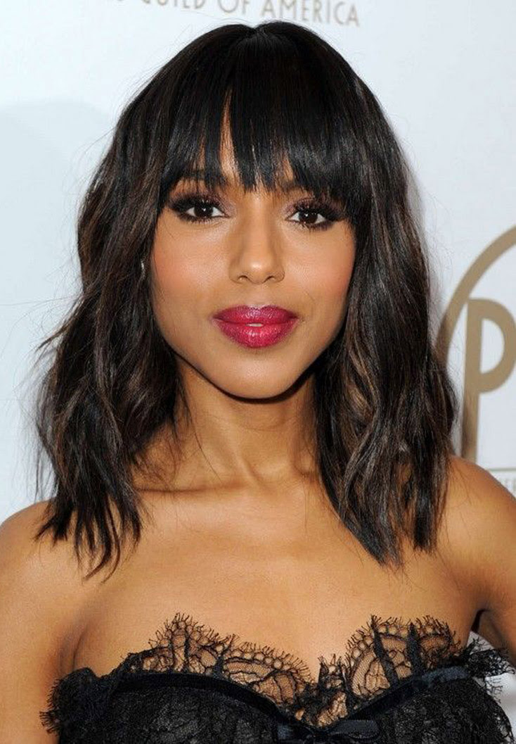 25 Mid Length Hairstyles For Thick Hair - Feed Inspiration