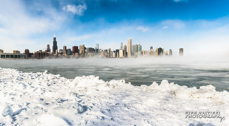 Polar Vortex 2014: Photos of a Chicago Deep Freeze winter ice Chicago