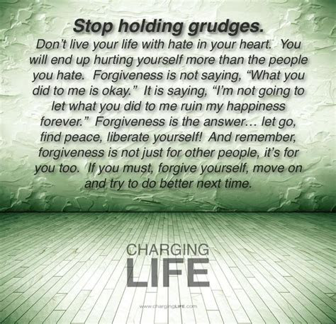 Biblical Quotes About Holding A Grudge