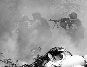 Украинским силовикам после серии перестрелок с ополченцами так и не удалось взять Славянск