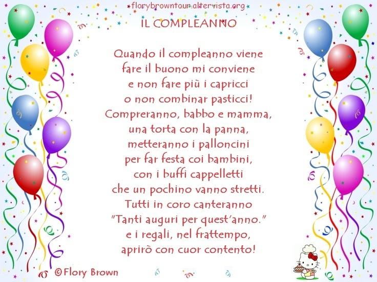 Frasi Per 1 Compleanno | Anna Schill Blog