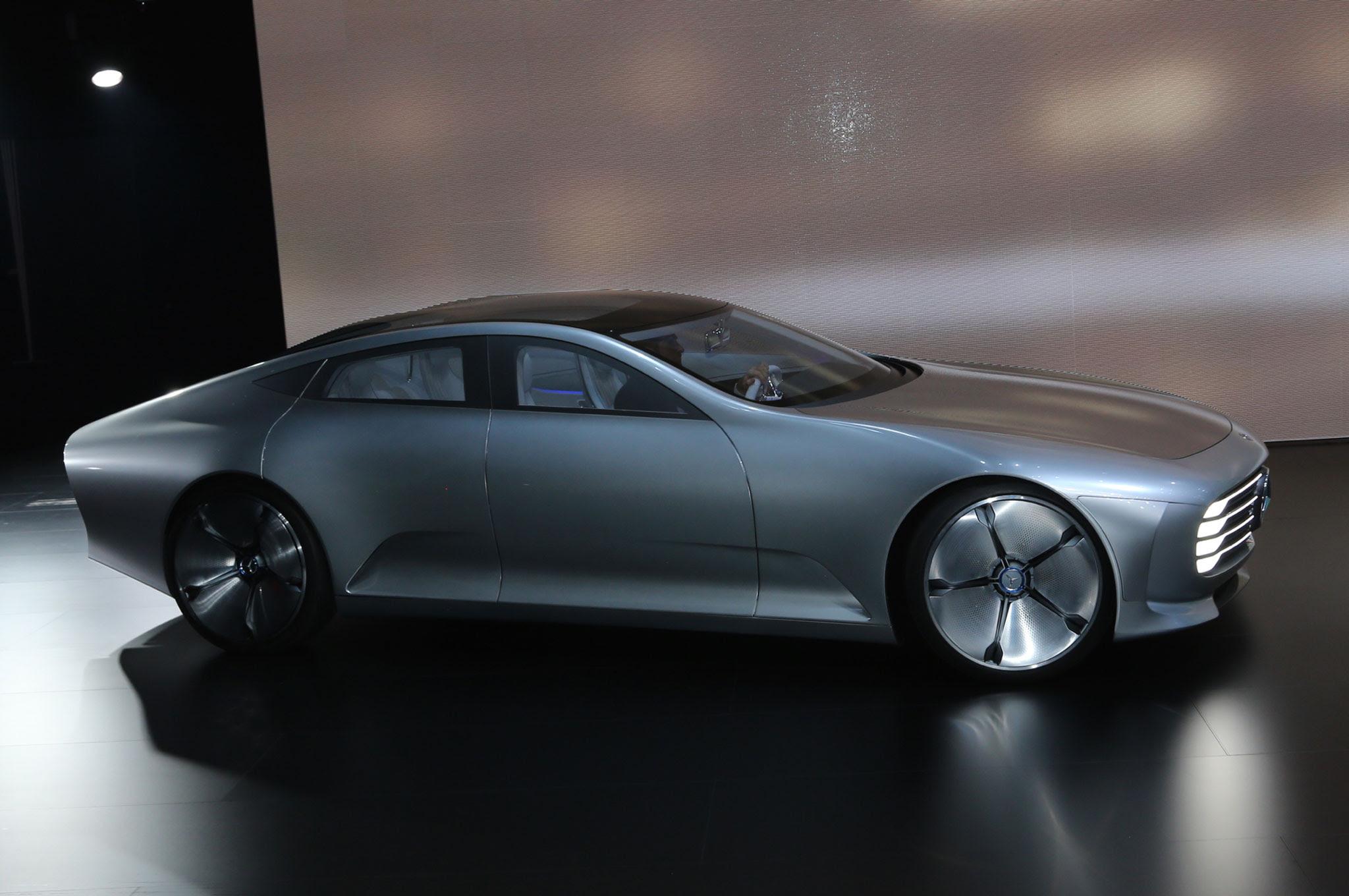 Mercedes-Benz Concept IAA is a Study in Aerodynamics