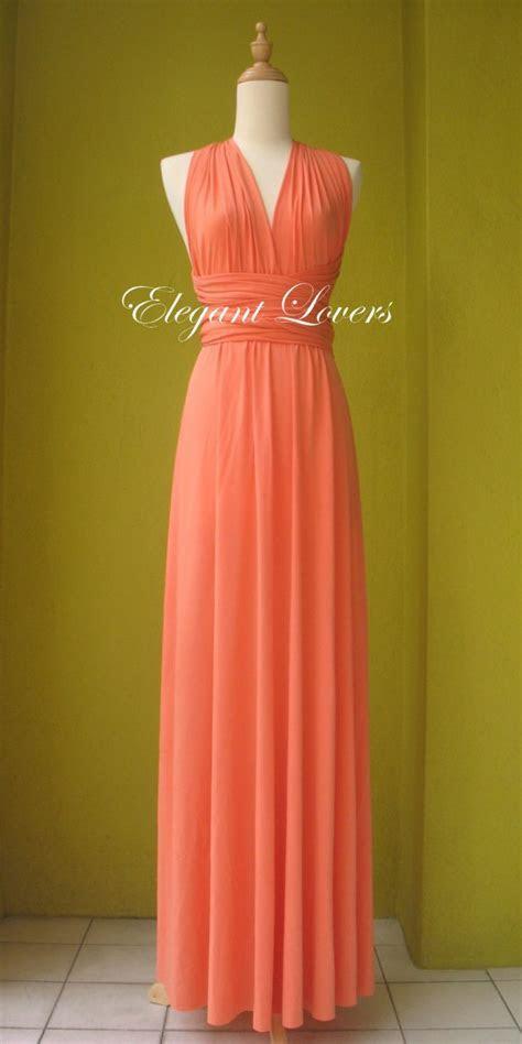 Orange Color Wedding Dress Bridesmaid Dress by