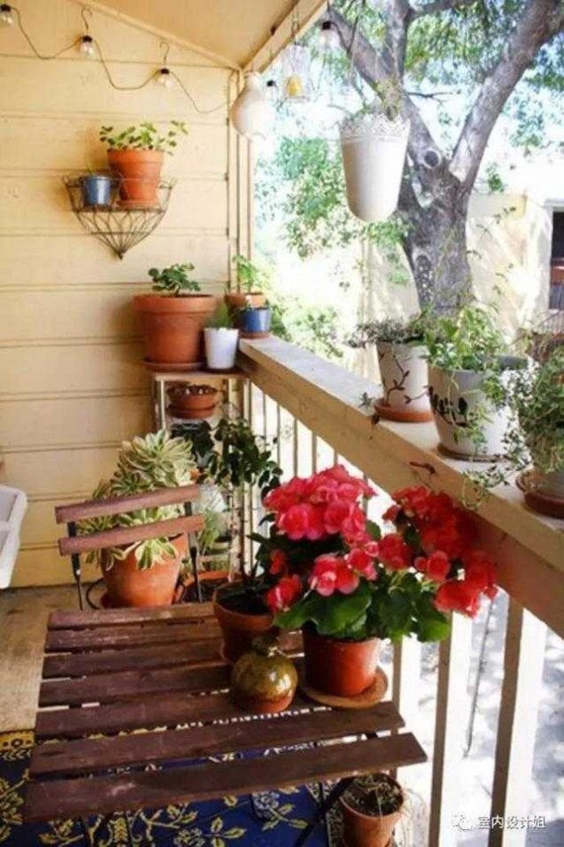 382ea03db38ad0d9eb3a2c7fb768a428 634x951 15 Smart Balcony Garden Ideas That are Awesome
