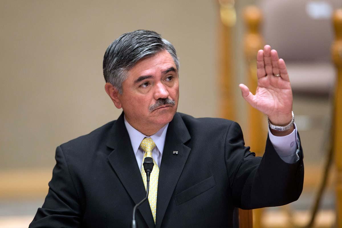 El presidente del Instituto Federal Electoral (IFE), Leonardo Valdés Zurita. Foto: Marco A. Cruz
