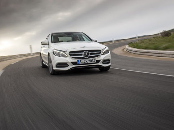 Mercedes-Benz C-Class action shot