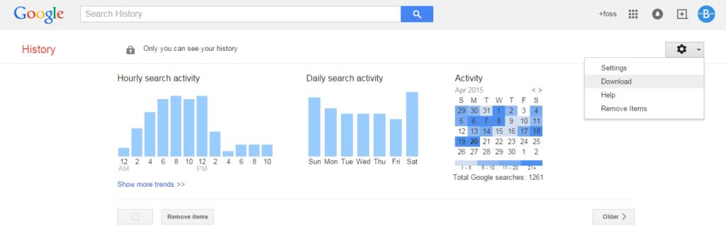 google-history-download