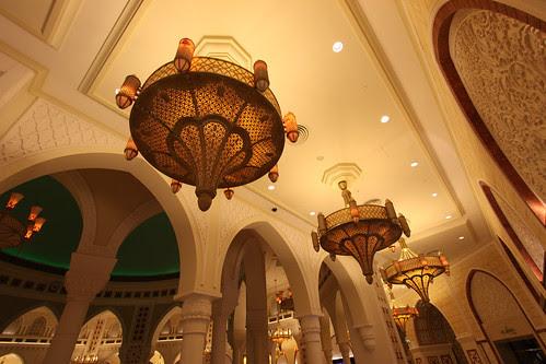 Dubai Mall Gold Souk Lamps