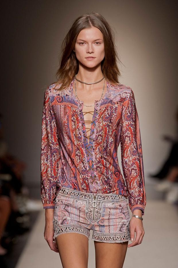 Isabel Marant S/S 2013 Paris Fashion Week _