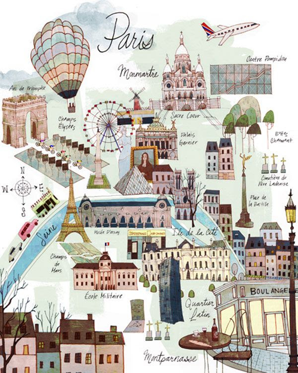 Map Your Trip #Paris