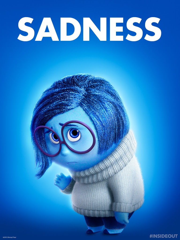 Sadness Inside Out Images Sadness Tablet Wallpaper Hd Wallpaper