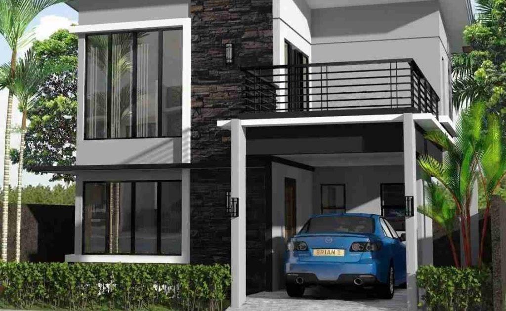 25+ Trend Terbaru Desain Rumah Minimalis 2 Lantai Type 21 ...