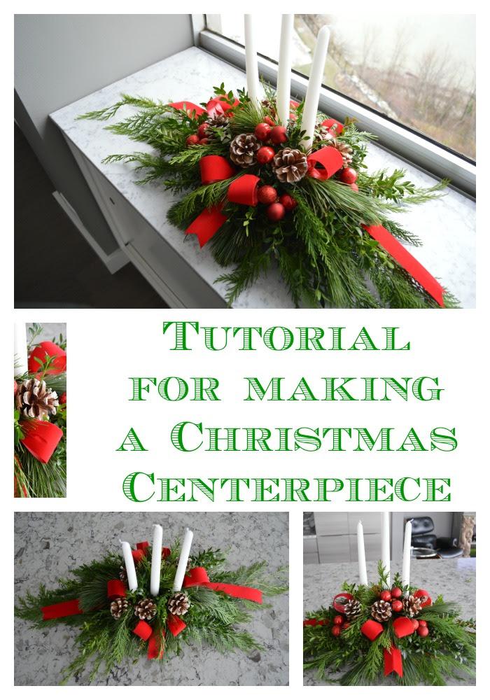 Diy Evergreen Christmas Centerpiece Celebrate Decorate