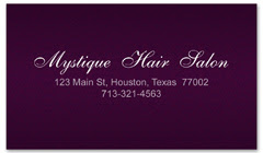 BCS-1110 - salon business card