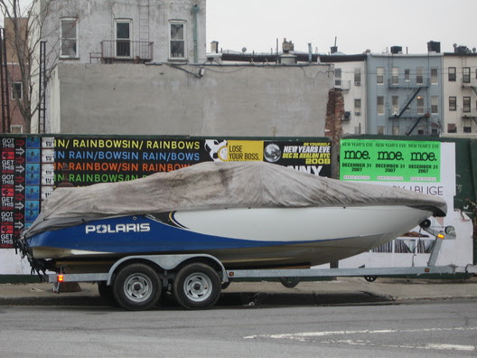 Parked Boat