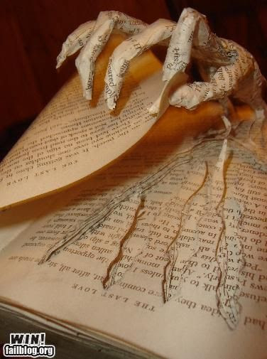 paper hand.... perfect for the library!
