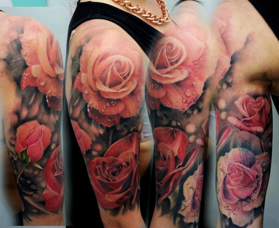 Realistic Rose Tattoo Designdenenasvalencia