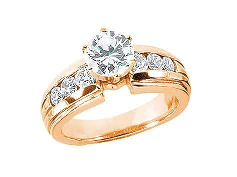 1.20Ct Round BrilliantDiamond Engagement Ring Solid 18k