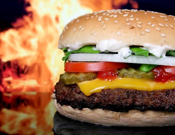 Beef Burger with Garlic Tartare and Herbs