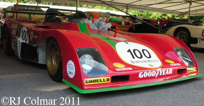 Ferrari 312 P, Goodwood FoS