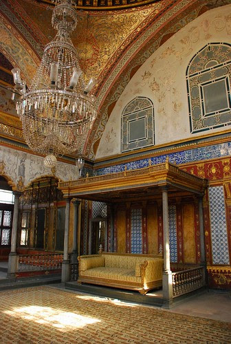 at the Topkapi Palace