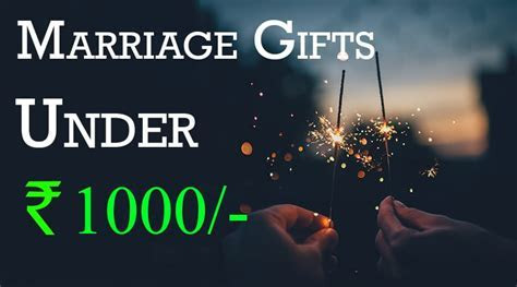 Top 10 Marriage Gifts For Friends (Budget Rs 1000
