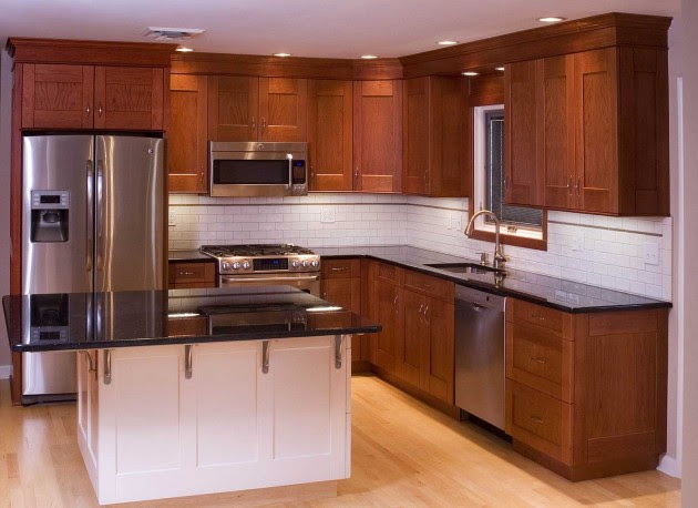 14 Functional Small Wooden Kitchen Design Ideas