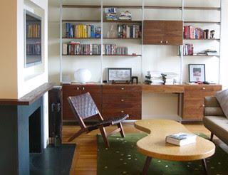 fireplace modern living room