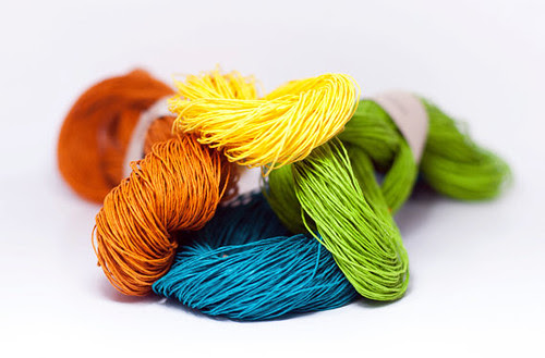 Paperphine paper yarn - spring colors