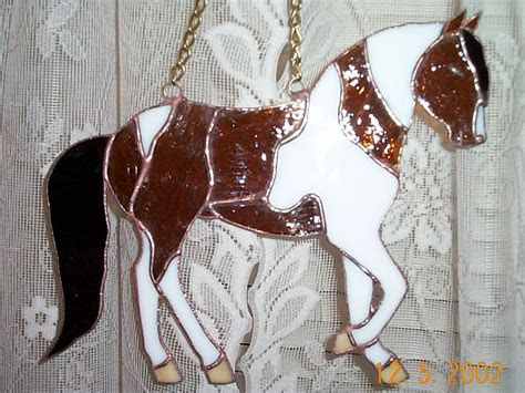 stained glass horses images  pinterest horses