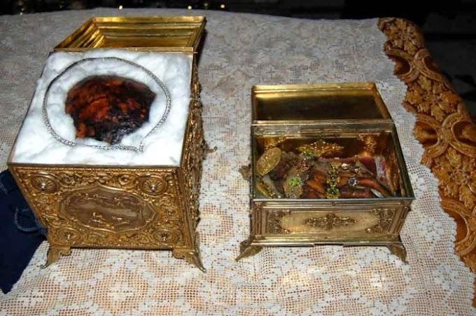 Τα αδιάφθορα λείψανα της Αγίας Μεγαλομάρτυρος Αικατερίνης