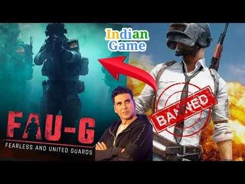 Fearless United Guard FAU-G | FAUG is Indian GAME by Akshay Kumar faug game release date with faug game video FAUG TRAILER