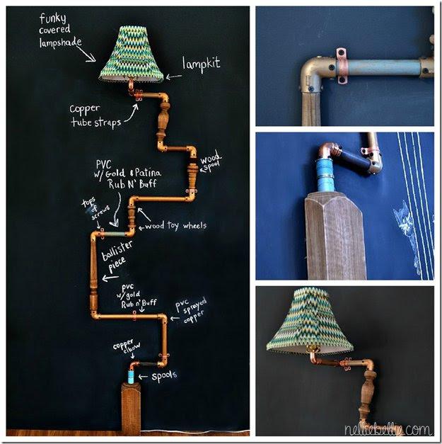 Lamp Shade Anthropologie Hack Ideas | http://diyready.com/diy-decor-anthropologie-hacks/