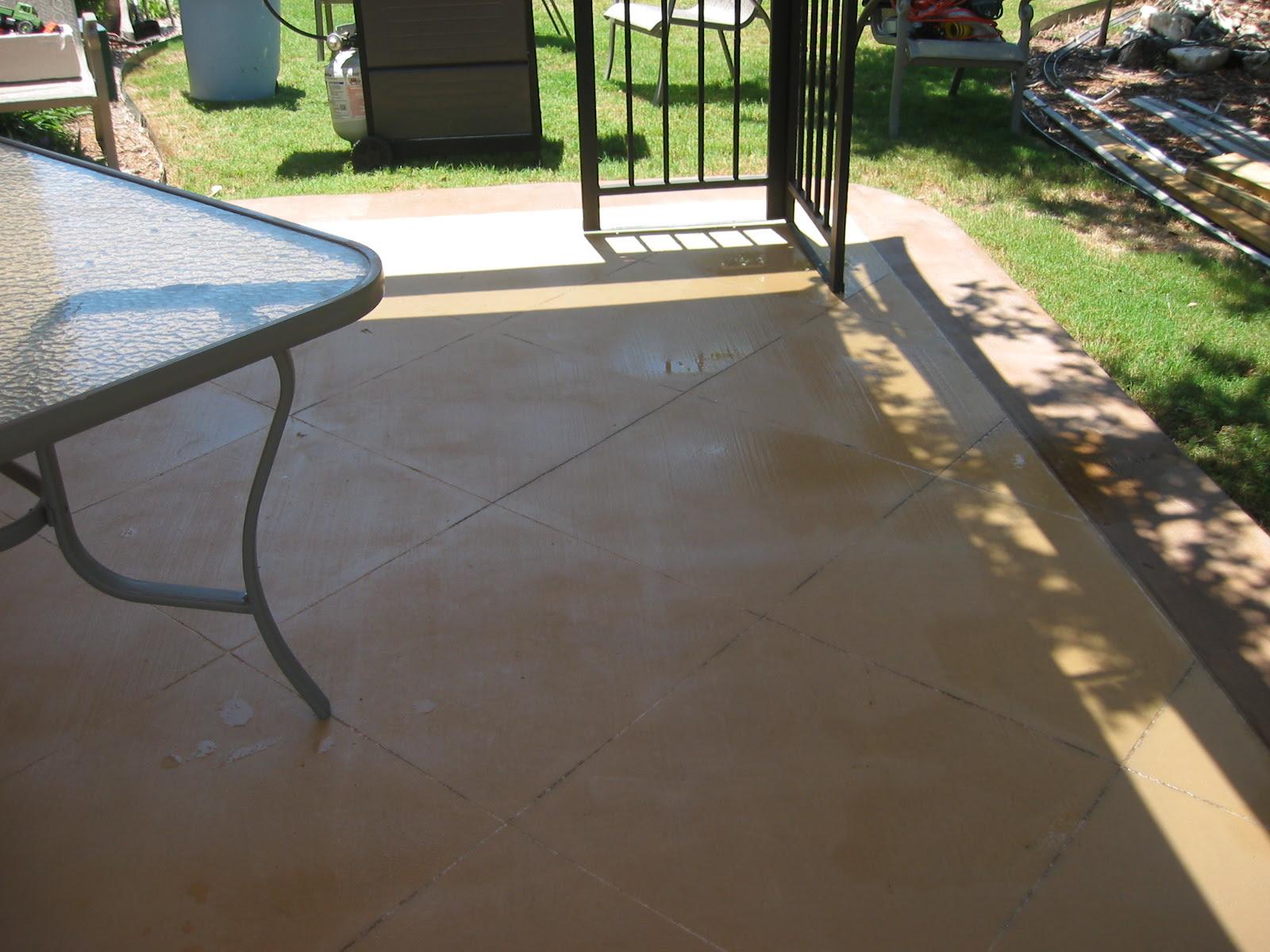 Concrete Staining Home Depot neighborhood San Antonio