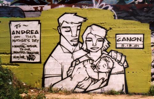 Mother's Day graffiti: Final