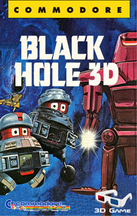 Black Hole 3D game Commodore 64 Disney