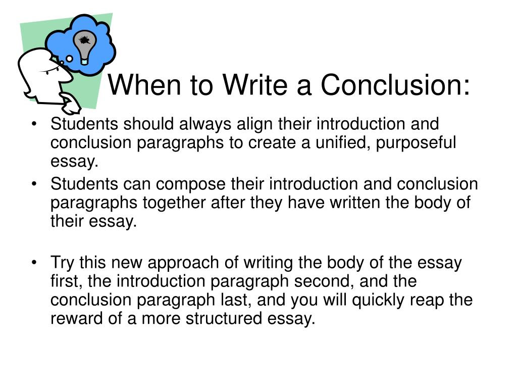 Research Papers: How to Write a Conclusion