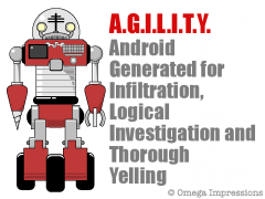 Android Generated for Infiltration, Logical Investigation and Thorough Yelling
