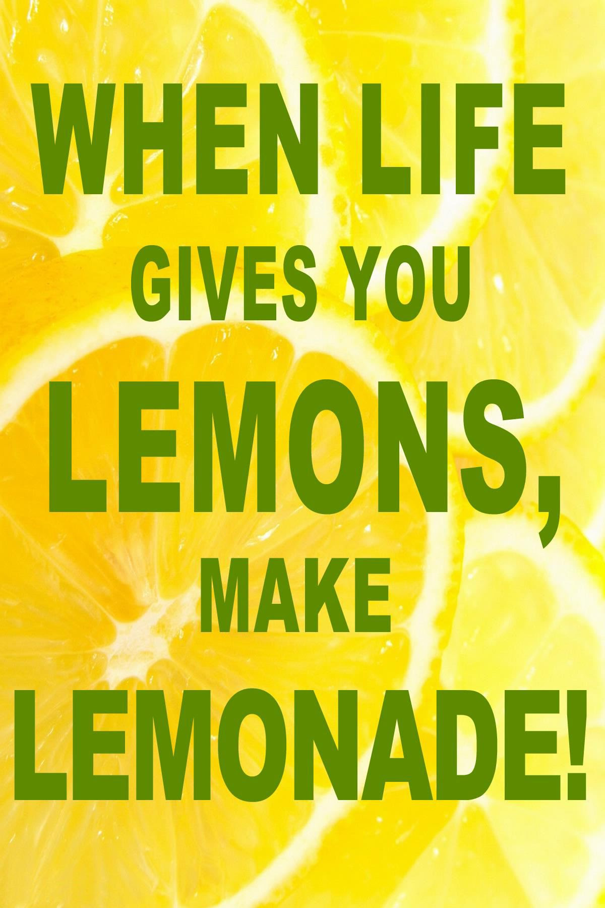 Yoddler When Life Gives You Lemons Make Lemonade Happiness Quote