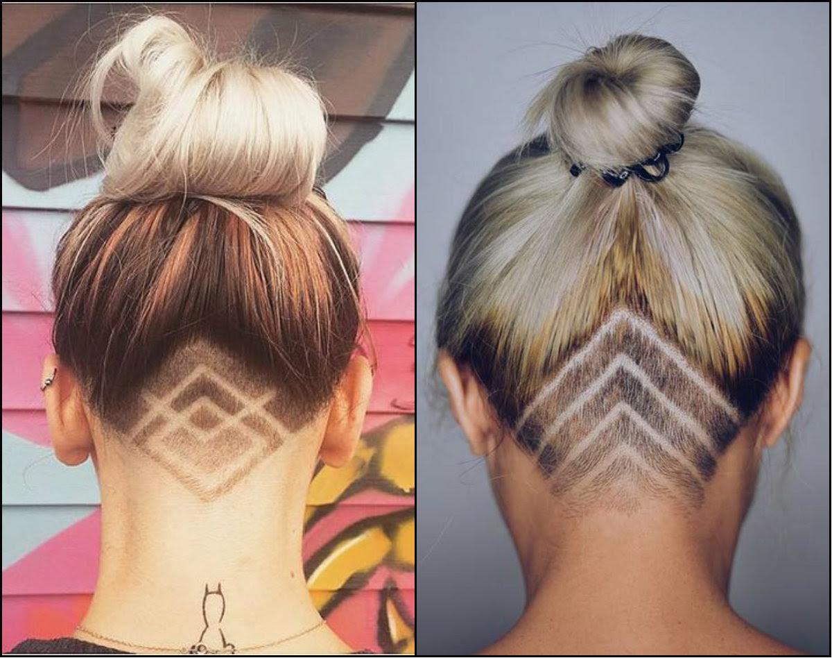 Long Hair Shaved Back Female Best Long Hair 2018