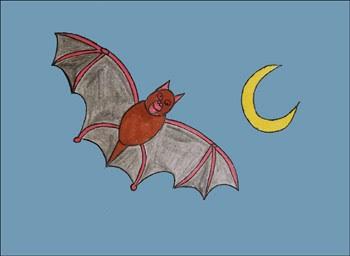 Aprender A Dibujar Dibujar Halloween Un Murciélago Eshellokidscom