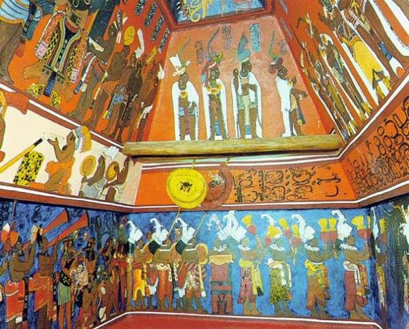 Arte Mural Maya Escuelapedia Recursos Educativos