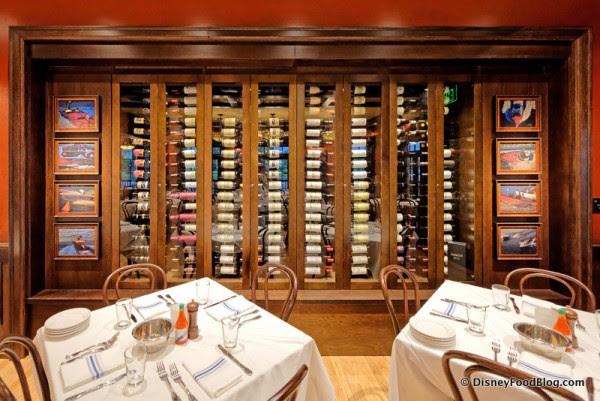 Wine Rack in Dining Room 4