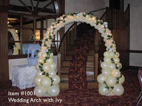 Wedding Arch   Baloon Arches   #1001   Wedding Arch with