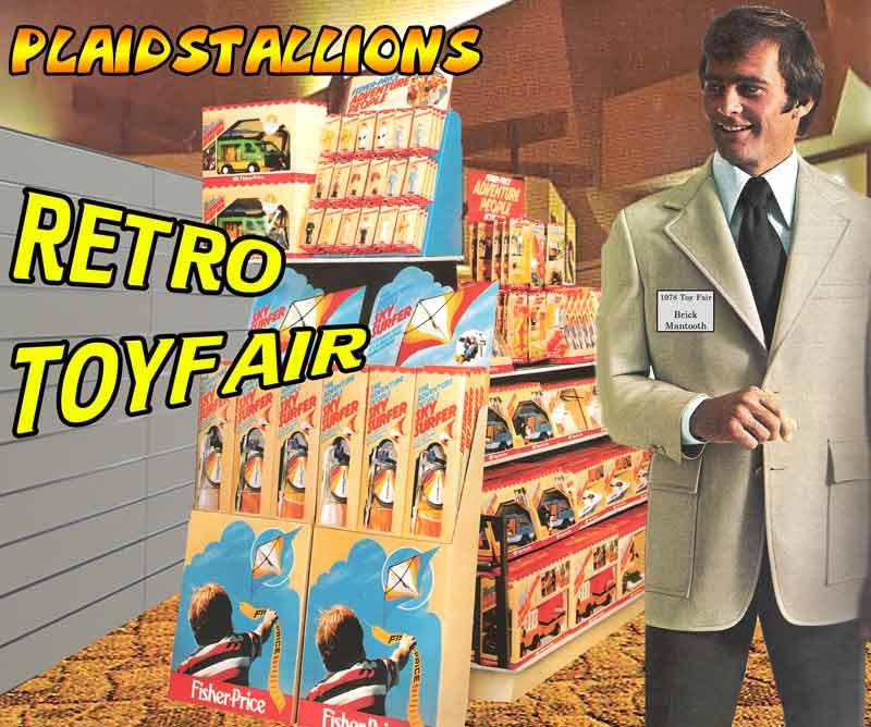 plaidstallions retro toy fair coverage