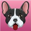 SATIRTEC S.L. - FrenchieMoji - French Bulldog artwork