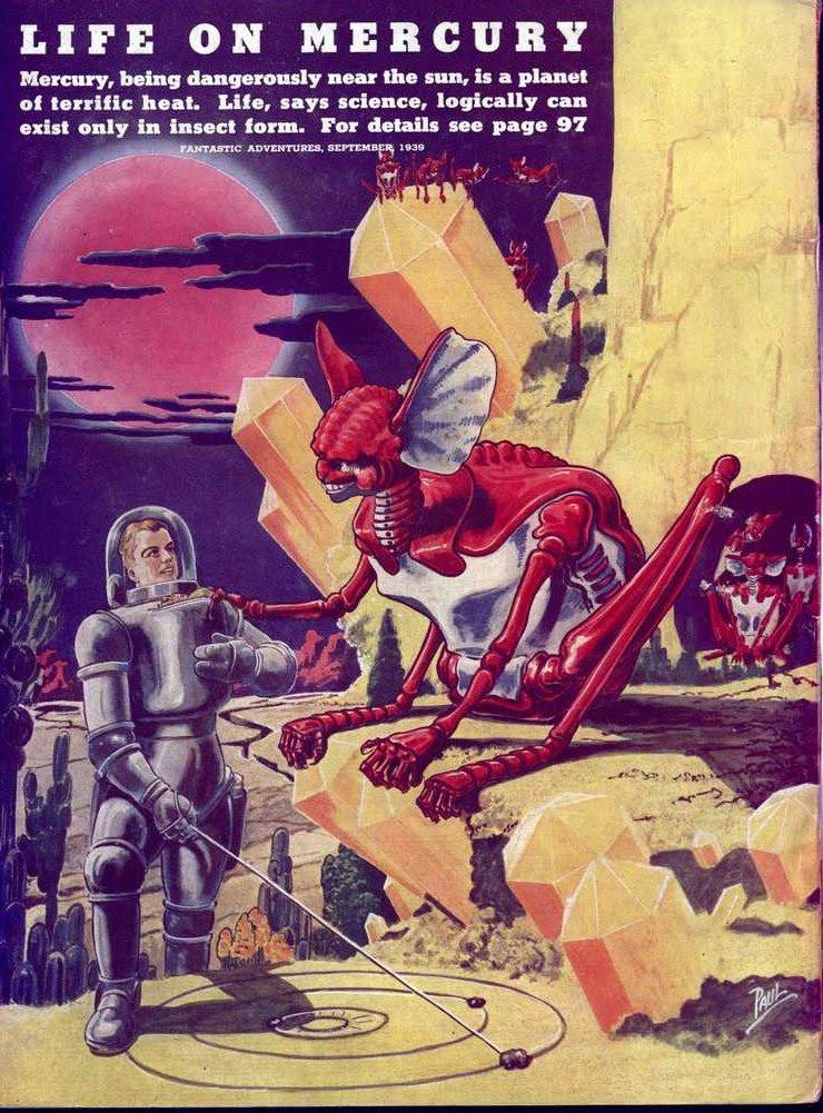 Paul - Life on Mercury (Fantastic Adventures v01 n03